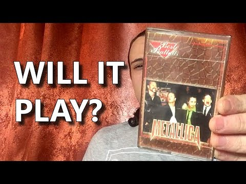 20-year-old cassette, your first Metallica song (summary!), my story in details | Andriy Vasylenko