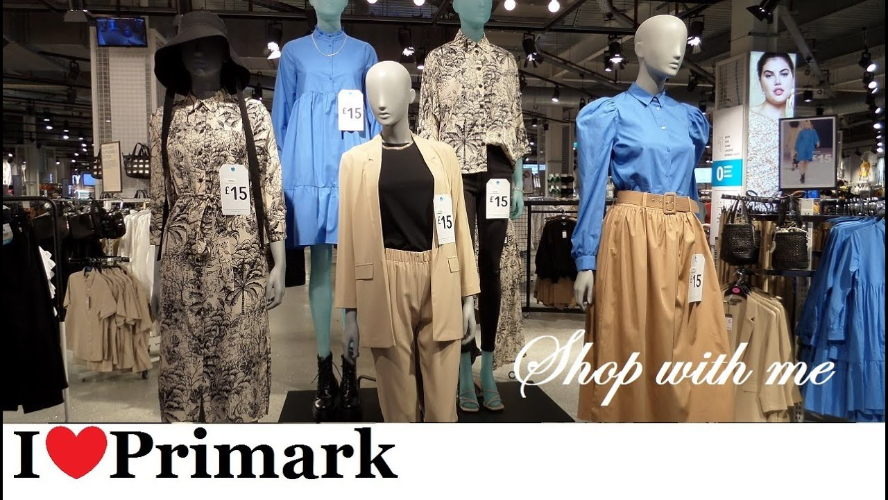 Primark New Collection Shop With Me - New Women's Fashion July 2020 | I❤Primark