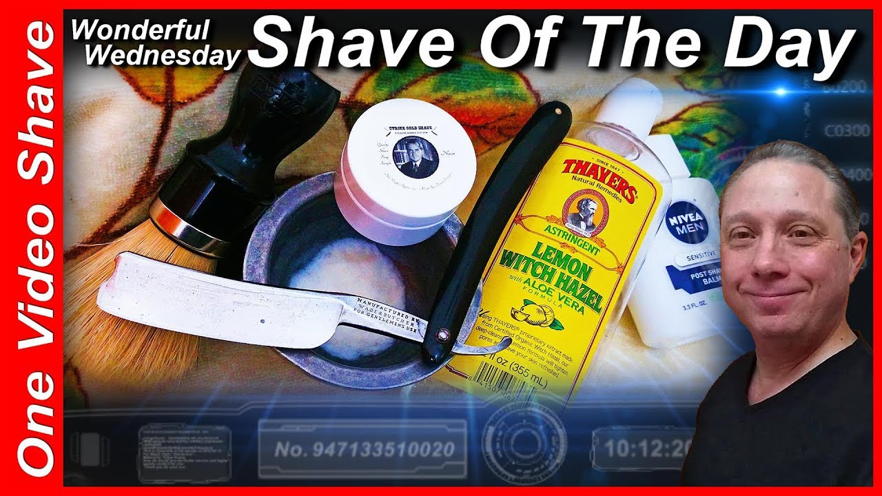 Wonderful wednesday shave of the day ovs wadebutcher straight wonderful wednesday shave of the day ovs wadebutcher straight razor shave strike gold shave sotd baditri Image collections