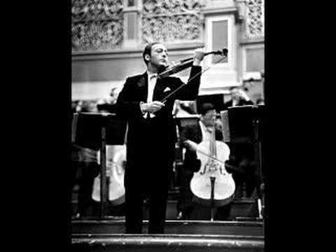 Jascha Heifetz - Glazunov Violin Concerto in a (1st mov)