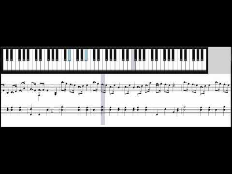One Piece Bink's Sake (Brook Song) - Piano Music Sheet Download & Tutorial