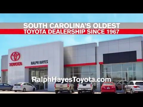 ralph hayes toyota in anderson sc youtube. Black Bedroom Furniture Sets. Home Design Ideas