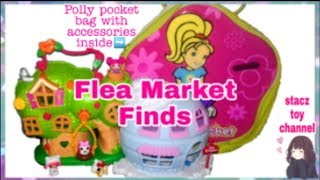 Lalaloopsy Treehouse Playset & Polly Pocket Soft Carry Case