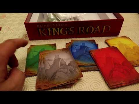 Kings Road - Grail Games's fantasy version of Imperium