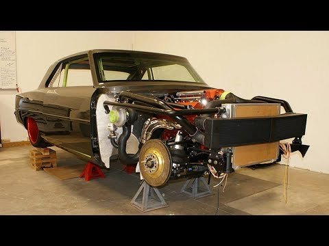 1967 Chevrolet Nova SB2 Twin Turbo 1300hp Build Project
