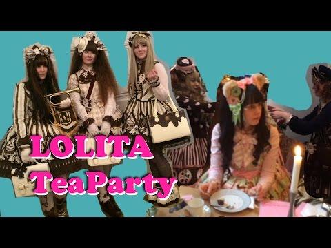 Lolita Tea-party in Stockholm