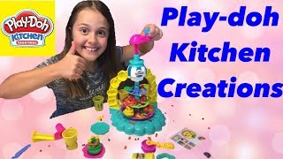 Hasbro Play Doh Kitchen Creations Sprinkle Cookie Surprise #hasbro #newtoys