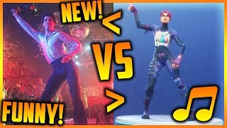 *NEW* DISCO FEVER DANCE IN REAL LIFE! Fortnite SAVAGE & FUNNY Moments 2018!