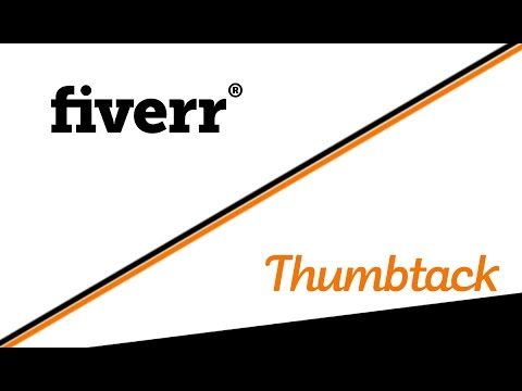 Fiverr & Thumbtack,Find clients without spending thousands of dollars.