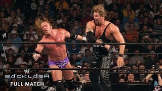 FULL MATCH — Nash, Michaels & Booker T  vs. Triple H, Flair & Jericho: Backlash 2003