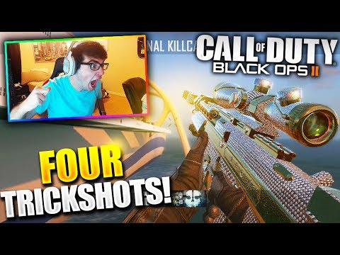 Thumbnail: I HIT 4 TRICKSHOTS IN ONE DAY! (UNLUCKIEST TO LUCKIEST DAY!) - BO2 Trickshotting