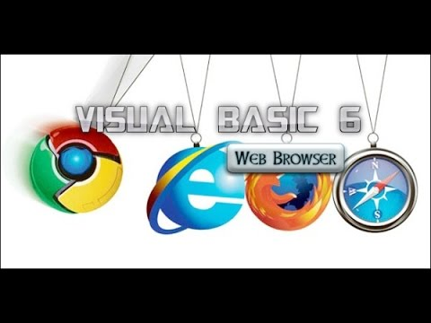 How to Make a Web Browser in VISUAL BASIC 6