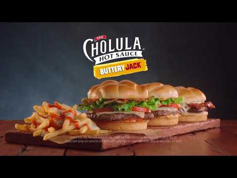 "Jack in the Box Commercial - Cholula Buttery Jack - ""Team Up"""