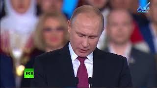 """В.Путин: """"Россия должна беречь свою государственность и свободу, стабильность и согласие в обществе"""""""