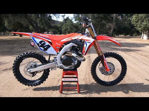 First Ride 2019 Honda CRF450R Works Edition - Motocross Action Magazine