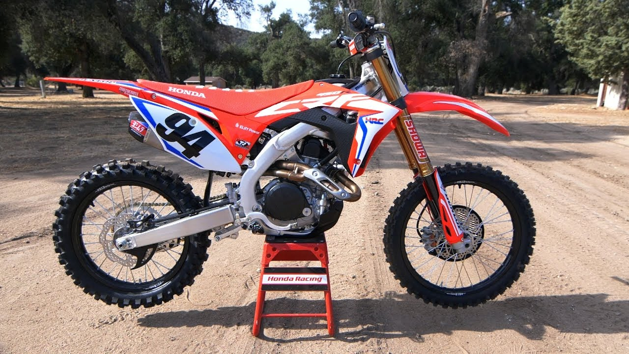 First Ride 2019 Honda Crf450r Works Edition Motocross Action