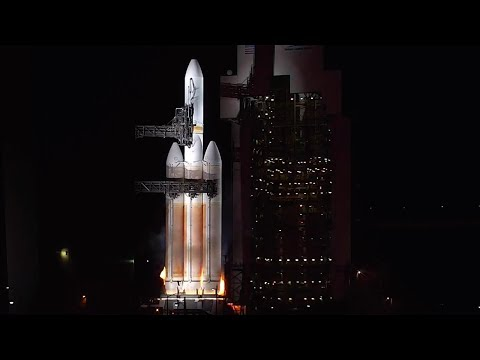 Delta IV Heavy aborted launch with NROL-71
