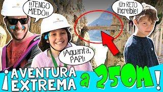 😱 ¡¡Aventura EXTREMA a más de 250M de ALTURA!! ⛰+ Ataque de VÉRTIGO de PAPI 😢