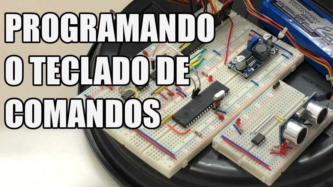 PROGRAMANDO O TECLADO DE COMANDOS | Usina Robots US-3 #048