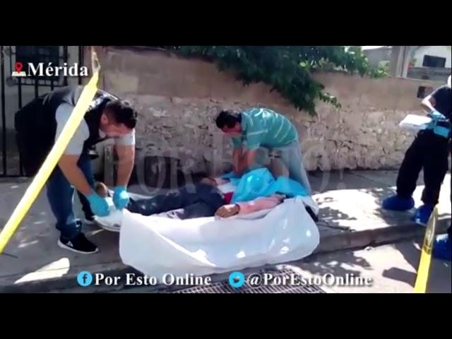 Fallece trabajador Aseo Urbano en plena calle | POR ESTO!