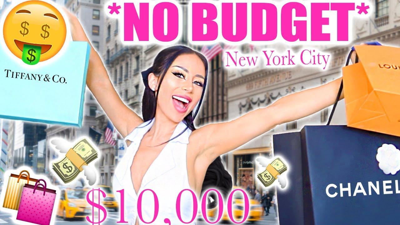 No Budget Shopping Spree: New York City!