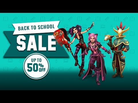 Paladins - Back to School Sale (Now - August 31st)