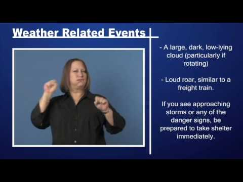 Weather Related Events - Tornado Preparedness