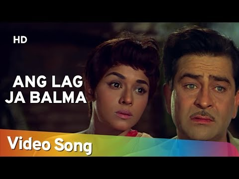 Angh Lag Jaa Baalma  Padmini  Mera Naam Joker  Shankar Jaikishen  Old Hindi Songs  Asha