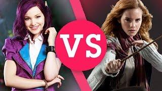 Harry Potter VS Disney Descendants | Hermione, Mal, Voldemort, Maleficent & More!