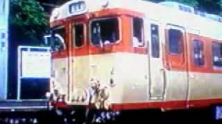 湯浅駅を出発する有田鉄道キハ58(136)他(1992年頃)