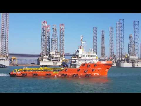 ANCHOR HANDLING TUG SAFETY STANDBY BOAT RAWABI 5 IN ASRY SHI