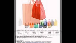 Listino Borse Shopper Personalizzate
