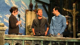 Middle-earth News: Exclusive Interview with Aidan Turner and Dean O'Gorman