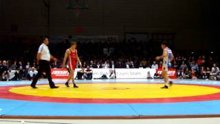 Freistil 66kg Julian Meyer -George Bucur 0:4 SS 0:7 0:4