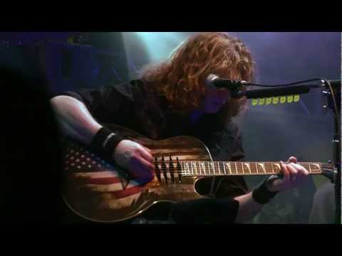 "Megadeth ""Public Enemy No. 1"" unplugged WRIF 2012"