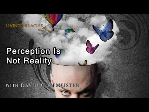 Perception Is Not Reality - A Course in Miracles - David Hoffmeister ACIM
