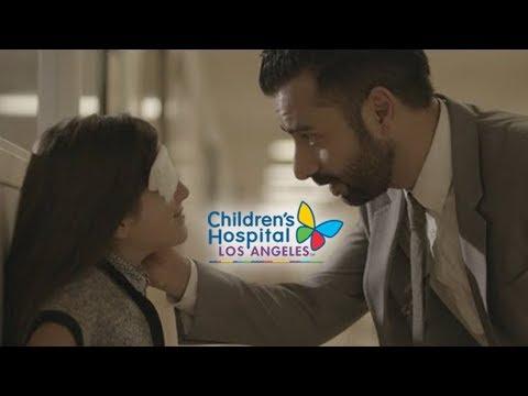 "Arsi Nami & Talia Ibrahim in Children's Hospital Los Angeles ""Healthcare in the Cloud"""
