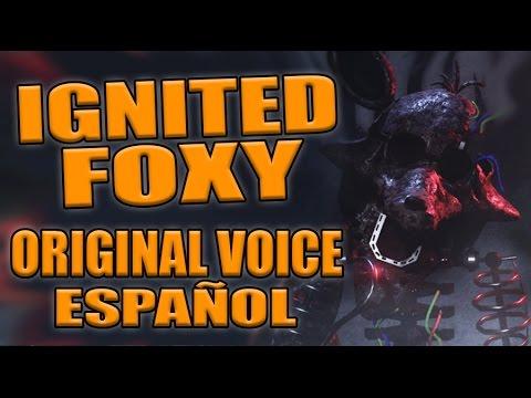 THE JOY OF CREATION REBORN - IGNITED FOXY ORIGINAL VOICE ESPAÑOL - FIVE NIGHTS AT FREDDY'S