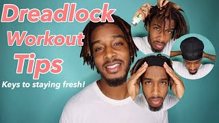 How to Keep Your Dreadlocks Fresh | During and After Your Workout | #starterlocs #dreadlockjourney