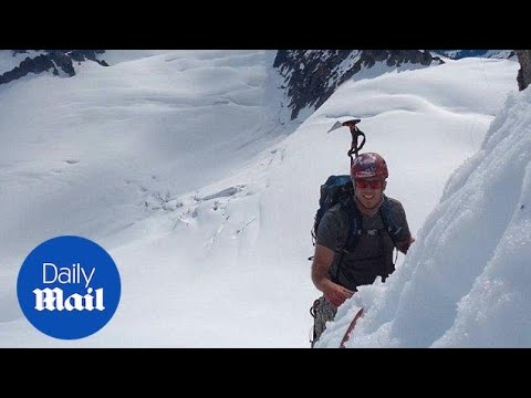 911 call made by climber after man falls 600ft off Mount Hood - Daily Mail