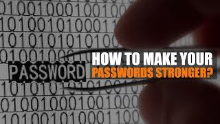 Why Not Mint Money | How to make your passwords stronger?