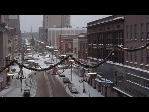 Holiday scenes of Grand Rapids, MI in 1979 from George C. Scott movie. HolidayMemoriesGR.com