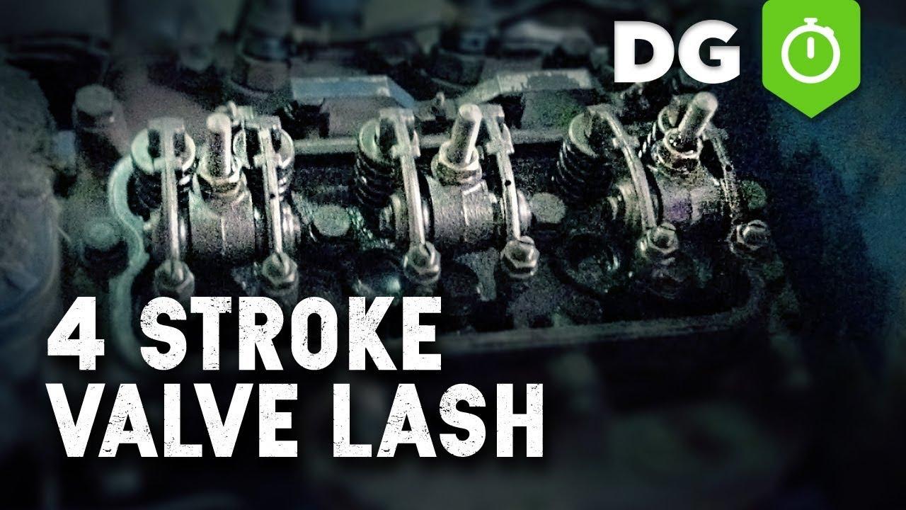 How To Set Valve Lash On A Three Cylinder Engine Youtube Isuzu 3kc1 Parts Diagram