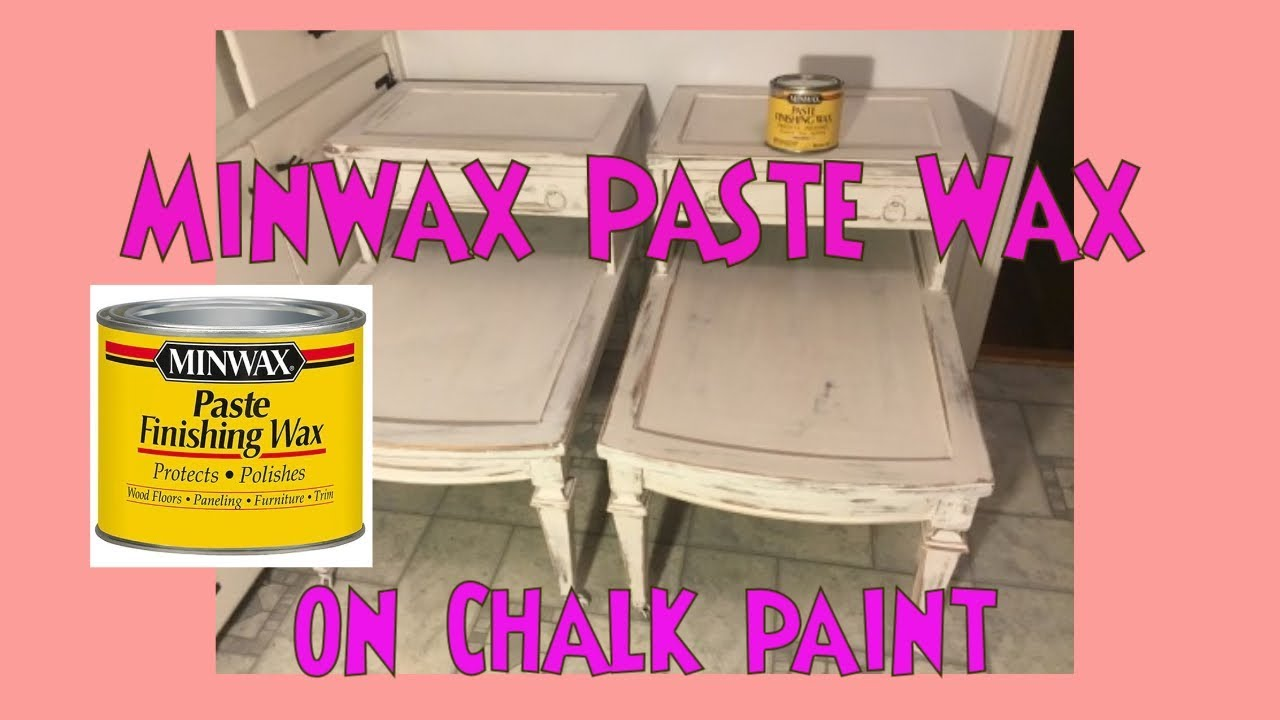 Minwax Paste Wax To Seal Chalk Paint Product Review Amp How