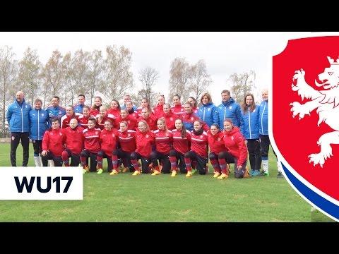 České fotbalistky do 17 let se chystají na severu Čech na blížící se ME