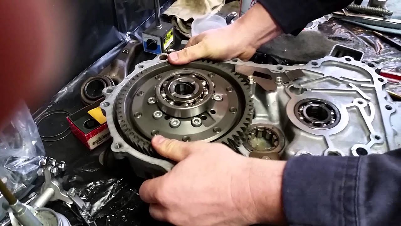 B-Series Transmission Assembly Part 1