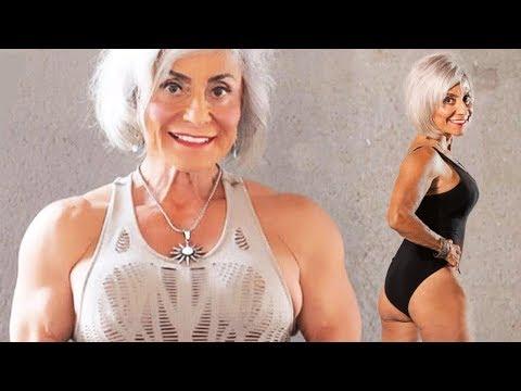 70 лет и артрит не помешали женщине заниматься бодибилдингом