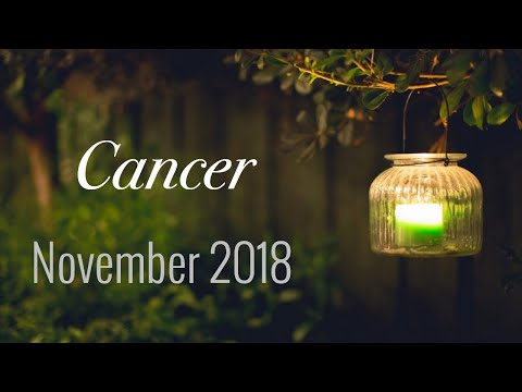 CANCER NOVEMBER 2018 | WALKING AWAY FROM THE PAIN - Cancer Tarot Love Reading