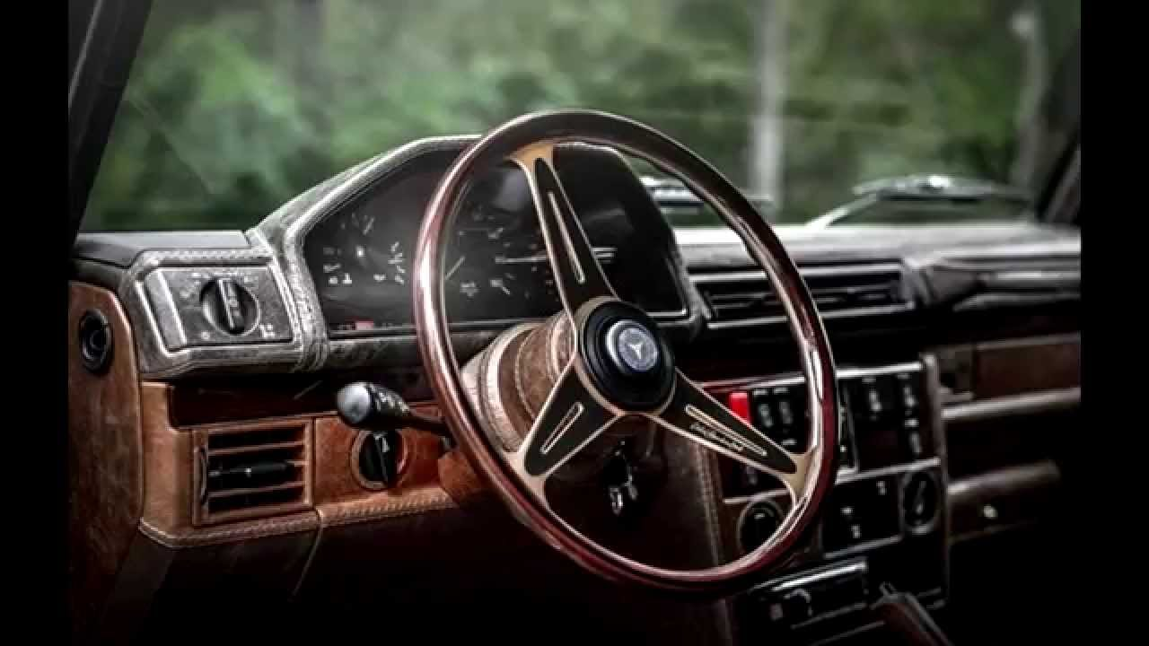 Mercedes G Class Vintage Interior Youtube