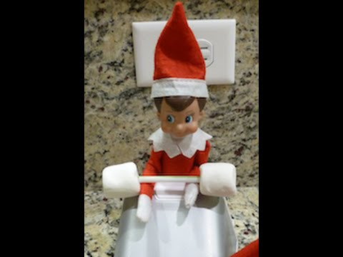 Elf On The Shelf EXCLUSIVE Footage Of Buddy Working Out